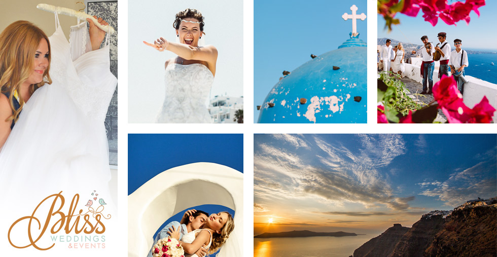 Santorini Bliss Weddings Who we are About Bliss How we work Manto Theochari Santorini wedding planner