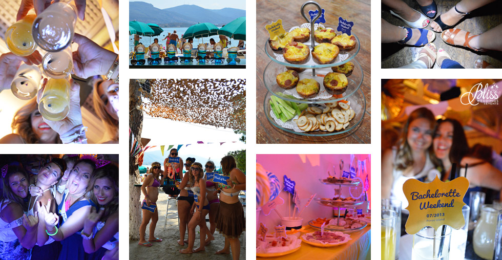 santorini bachelor party bachelorette weekend girls night out santorini wedding santorini bliss weddings and events Bachelor & Bachelorette Party Planner santorini poros bachelorette greece travel shots beach party bbq party brunch party bachelorette stationery