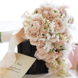 Santorini Wedding Stationary Bouquets 16
