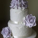 santorini wedding stationary Wedding Cakes 10