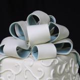 santorini wedding stationary Wedding Cakes 11