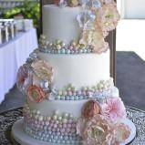 santorini wedding stationary Wedding Cakes 16