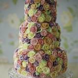santorini wedding stationary Wedding Cakes 02