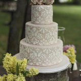 santorini wedding stationary Wedding Cakes 26