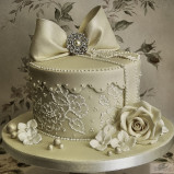 santorini wedding stationary Wedding Cakes 29
