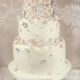 santorini wedding stationary Wedding Cakes 04