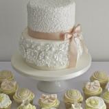 santorini wedding stationary Wedding Cakes 06