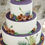 santorini wedding stationary Wedding Cakes 09