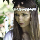 santorini Wedding Hair Accessories 010