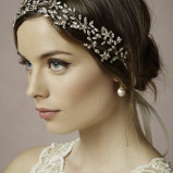 santorini Wedding Hair Accessories 002