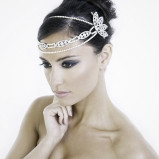 santorini Wedding Hair Accessories 026
