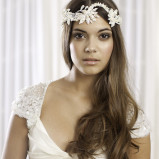 santorini Wedding Hair Accessories 004