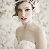 santorini Wedding Hair Accessories 005