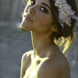 santorini Wedding Hair Accessories 008