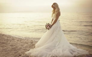 Santorini Wedding Bride Dresses 14