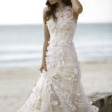Santorini Wedding Bride Dresses 15