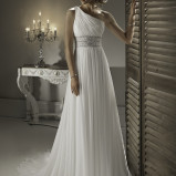 Santorini Wedding Bride Dresses 22