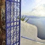 Unique Santorini Wedding Doors 10