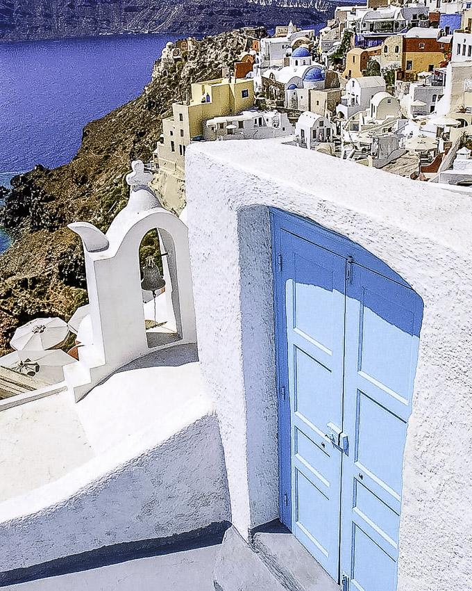 unique santorini doors  sc 1 st  Santorini Bliss Weddings & Unique Santorini Doors - santoriniblissweddings.com