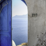Unique Santorini Wedding Doors 18