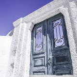 Unique Santorini Wedding Doors 22