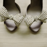 santorini wedding stationary Wedding Shoes 02
