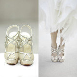 santorini wedding stationary Wedding Shoes 27