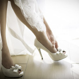 santorini wedding stationary Wedding Shoes 31