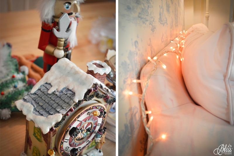 Santorini Bliss Weddings office, Seasons Greetings, fairylights, Christmas, nutcracker, pink, blue, decoration, happy new year