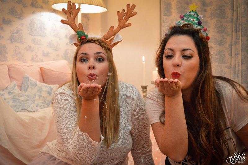 Santorini Bliss Weddings team, Seasons Greetings, fairylights, Christmas, sweets,candles, lace, pink, blue, decoration, happy new year, Manto Theochari, blowing snowflakes, Georgia Vasilatou